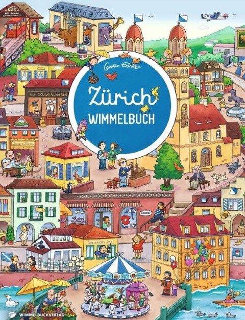 Zürich Wimmelbuch - Das große Bilderbuch ab 2 Jahre -