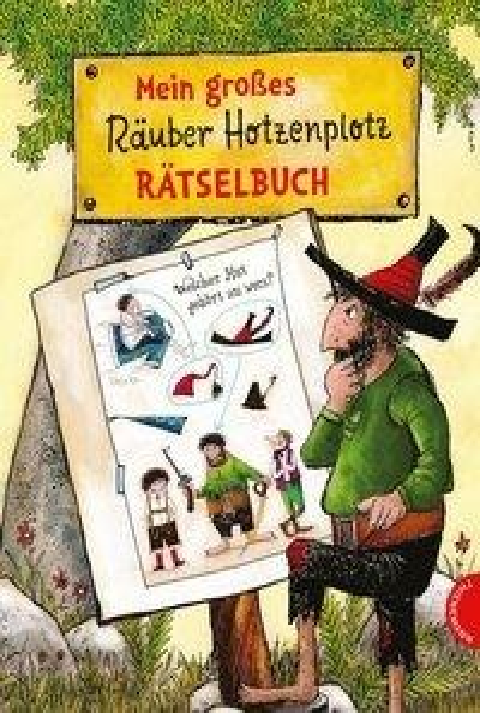 Mein großes Räuber Hotzenplotz-Rätselbuch - Otfried Preußler