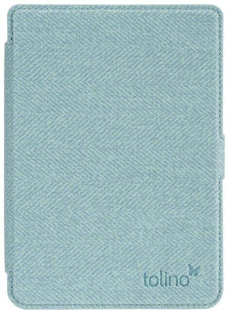 tolino shine 3 - Tasche Slim Blau/Gelb -