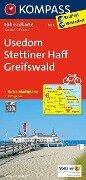 Usedom - Stettiner Haff - Greifswald 1 : 70 000 -