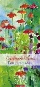 Familienplaner Leuchtende Blumen 2018 -