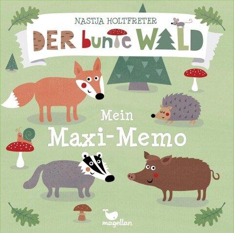 Der bunte Wald - Mein Maxi-Memo -