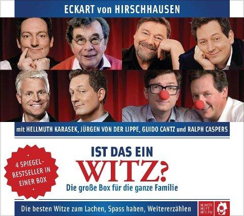 Ist das ein Witz? Die große Box für die ganze Familie - Eckart von Hirschhausen, Guido Cantz, Ralph Caspers, Hellmuth Karasek, Jürgen von der Lippe