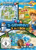 GaMons - 3-Gewinnt 3 in 1 Box. Für Windows Vista/7/8/8.1/10 -