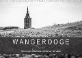 Wangerooge Noir (Wandkalender 2018 DIN A3 quer) - Frank Mitchell