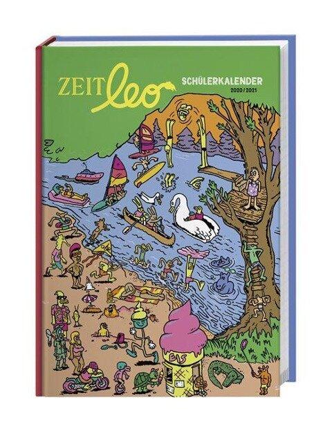 ZEIT LEO Schülerkalender A5 Kalender 2021 -