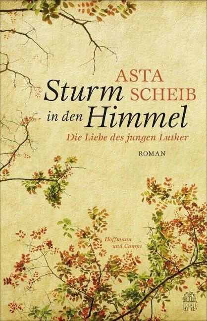 Sturm in den Himmel - Asta Scheib