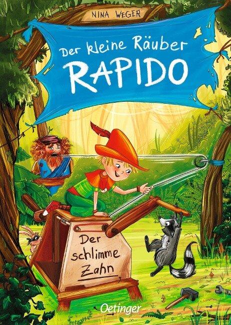 Der kleine Räuber Rapido 3 - Nina Weger