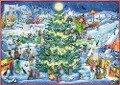 Wand-Adventskalender - Winterzauber im Hexendorf -