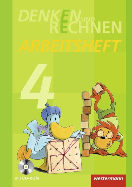 Denken und Rechnen 4. Arbeitsheft mit CD-ROM. Grundschule. Hamburg, Bremen, Hessen, Niedersachsen, Nordrhein-Westfalen, Rheinland-Pfalz, Saarland und Schleswig-Holstein -