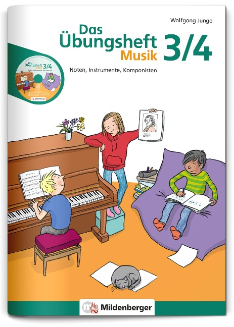 Das Übungsheft Musik 3/4 - Wolfgang Junge