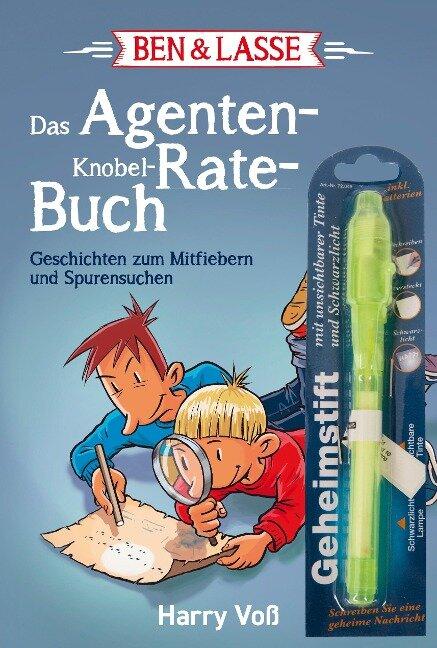 Ben & Lasse - Das Agenten-Knobel-Rate-Buch - Harry Voß