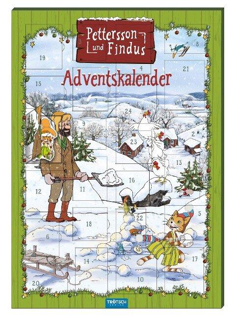 """Magnet-Adventskalender """"Pettersson & Findus"""" -"""