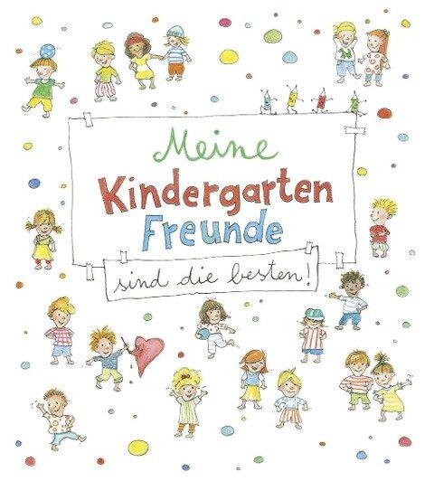 Meine Kindergarten-Freunde sind die besten! - Kritzel-Freundebuch ab 3 Jahre -