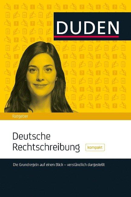 DUDEN - Deutsche Rechtschreibung kompakt - Christian Stang