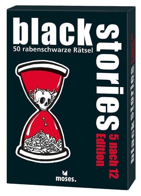 black stories 5 nach 12 Edition - Holger Bösch