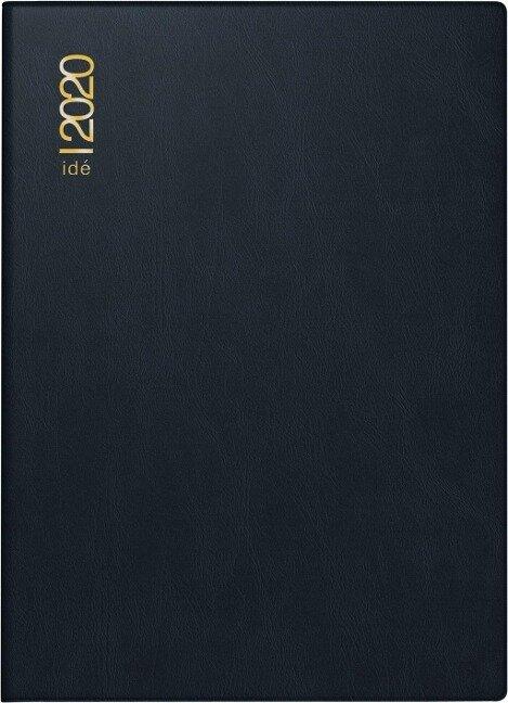 rido Taschenkalender 2019 perfect, PVC schwarz -