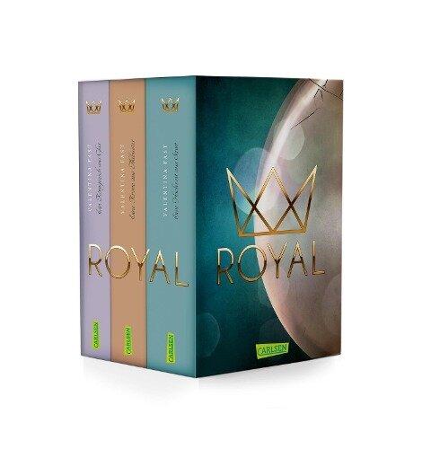 Royal: Die Royal-Serie: Alle Bände im Schuber - Valentina Fast