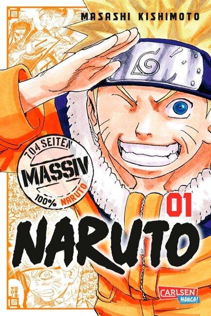 NARUTO Massiv 1 - Masashi Kishimoto