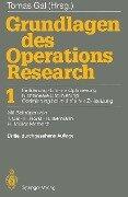 Grundlagen des Operations Research -