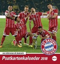 FC Bayern München 2018 Sammelkartenkalender -