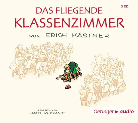Das fliegende Klassenzimmer (4 CD) - Erich Kästner