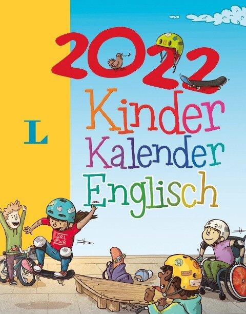 Langenscheidt Kinderkalender Englisch 2022 -