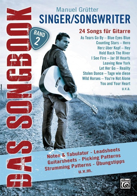 Singer/Songwriter - DAS SONGBOOK Band 2 - Manuel Grütter