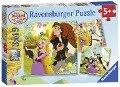 DRA: Rapunzel. Puzzle 3 x 49 Teile -
