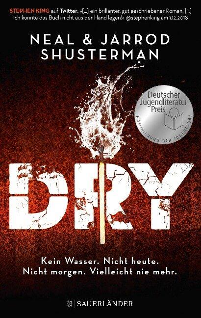 Dry - Jarrod Shusterman, Neal Shusterman