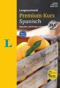 Langenscheidt Premium-Kurs Spanisch - Sprachkurs mit 2 Büchern, 6 Audio-CDs, MP3-Download, Online-Tests und Zertifikat - Elisabeth Graf-Riemann, Joana Romano Álvarez