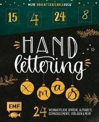 Mein Adventskalender-Buch: Handlettering X-Mas! -