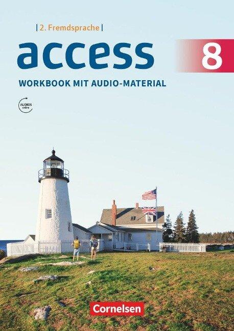 Access - Englisch als 2. Fremdsprache / Band 3 - Workbook mit Audios online -