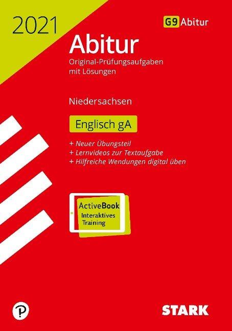 STARK Abiturprüfung Niedersachsen 2021 - Englisch GA -