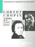12 ETÜDEN OP 10 - Frederic Chopin, Alfred Denis Cortot