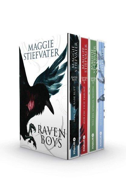 Die Raven-Boys-Reihe - Maggie Stiefvater