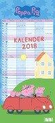 Peppa Pig Familienkalender 2018 -