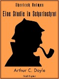 Sherlock Holmes - Eine Studie in Scharlachrot (HD) - Arthur Conan Doyle, Jürgen Schulze