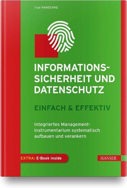 Informationssicherheit und Datenschutz - einfach & effektiv - Inge Hanschke