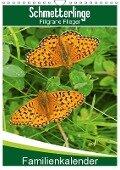 Schmetterlinge: Filigrane Flieger / Familienkalender (Wandkalender 2018 DIN A4 hoch) - Karl-Hermann Althaus