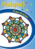 Blauer Malspaß Mandalas -