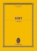 Carmen. Soli, Chor und Orchester. Studienpartitur - Georges Bizet