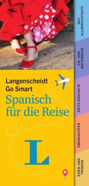 Langenscheidt Go Smart - Spanisch für die Reise. Fächer -