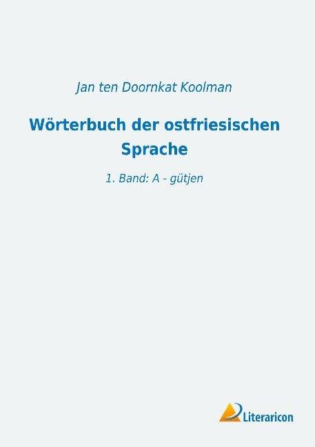 Wörterbuch der ostfriesischen Sprache -