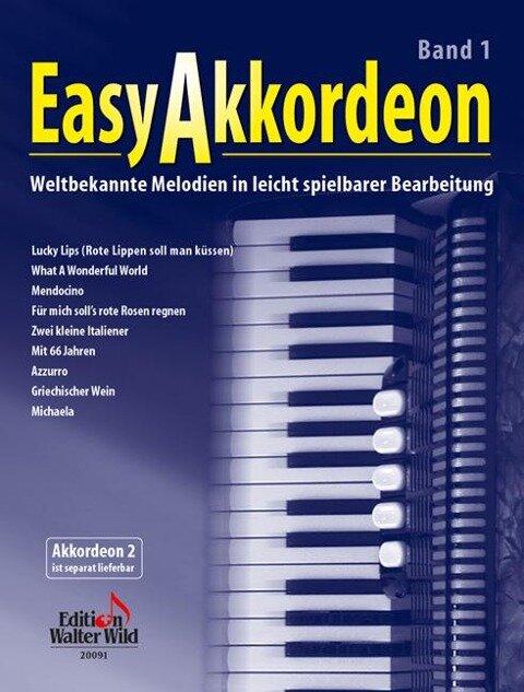 Easy Akkordeon Band 1 - Nelly Leuzinger