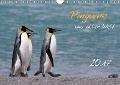 Pinguine aus aller Welt (Wandkalender 2017 DIN A4 quer) - Brigitte Schlögl