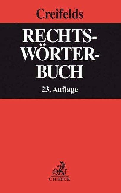 Rechtswörterbuch -