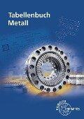 Tabellenbuch Metall - Roland Gomeringer, Falko Wieneke, Max Heinzler, Roland Kilgus, Volker Menges