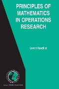 Principles of Mathematics in Operations Research - Levent Kandiller
