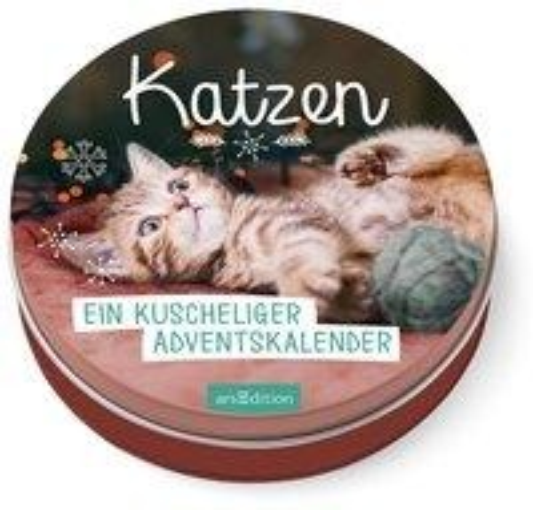 Katzen - Ein kuscheliger Adventskalender für Katzenfans -